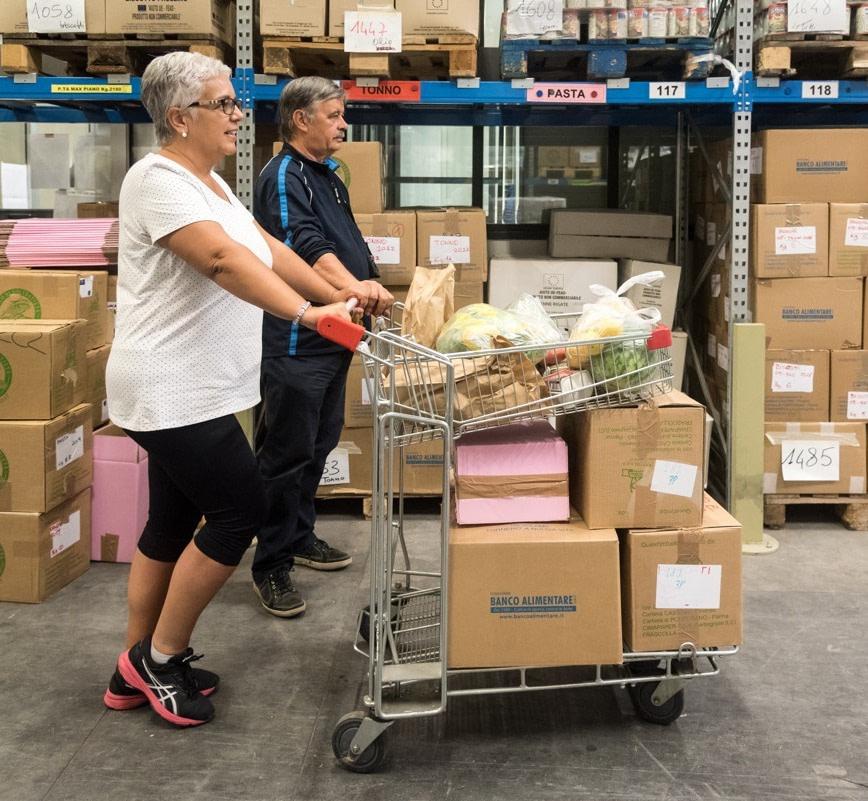 Volontari Banco di Solidarietà di Como